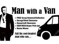 man with a van from Shop and house clearance and removals