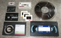 High-Quality Transfer of Your Tape and Film to CD or DVD
