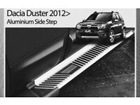 Dacia duster 13> Alloy side steps
