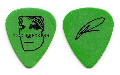 Todd Rundgren Signature Green Guitar Pick - 2008 Arena Tour