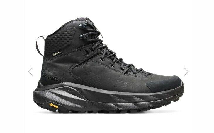 Hoka One One Kaha GTX Gore-Tex Black Grey Hiking Boots 11120