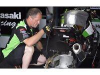 Motorbike Mechanic, Motorbike Maintenance School, Track & Race Services