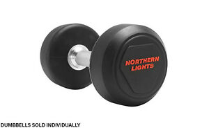Northern Lights Urethane Solid Steel Dumbbell,20lbs DFURETNLL020