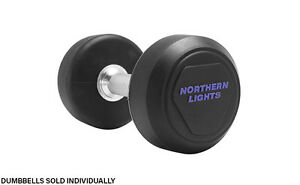 Rubber Covered Fixed Solid Dumbbell, 25lbs DFNLLR025