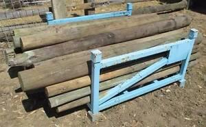 Rural fence pine posts Bugle Ranges Mount Barker Area Preview