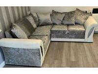 ❤️❤️Brand New Shannon Sofa Set, 5 SEATER CORNER SOFA❤️❤️