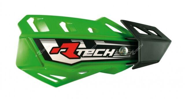 Universal Hand Guards 2 Mount Options 4 Versions Green suit Kawasaki KX80 etc