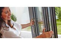 Beautiful Bi-Folding Doors - 3 Leaf - Grey