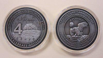 Apollo 11 Medallion Contains Metal Flown To The Moon On Apollo Missions NASA