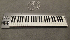 M-Audio Keyrig 49 USB Keyboard - Like-new Condition
