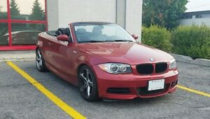 2008 BMW 1-Series 135i 6 spd turbo convertible cabriolet manual
