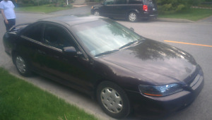 Honda Accord, price is firm. First come first serve!