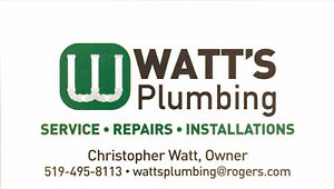 Watt's Plumbing - Expert plumber with over 15 years experience