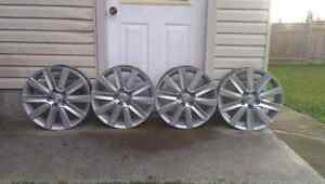 Mazdaspeed3 rims 18x7 5x4.5 bolt pattern London Ontario image 2