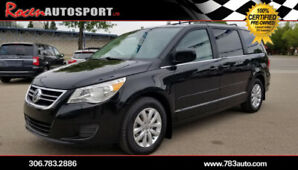 CERTIFIED 2012 VW ROUTAN VAN - LEATHER - TV/DVD + MORE - YORKTON