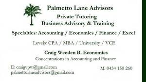 VCE TUTOR - Accounting / Math / Business $40.00 an hour Melbourne CBD Melbourne City Preview