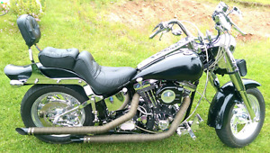 HARLEY SOFTAIL CUSTOM STROKED 1340 POSSIBLE TRADES PLEASE READ