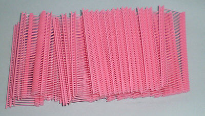 1000 Pink 1 Clothing Garment Price Label Tagging Tagger Gun Barbs Fasterners