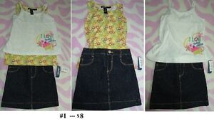 5T Girl's --- Outfit Lot 04