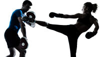 Use Muscles you didn't know you had! Give KICKBOXING a try!
