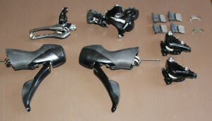 Shimano 105 RS505 Hydraulic HYDRO Disc groupset shifters brakes