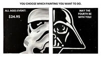 East Coast Art Party - Star Wars Day Event!