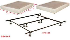 Bed Box Spring + Foundation (KING Size) **MOVING SALE**