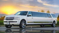 Four points limo service wedding limousine rental