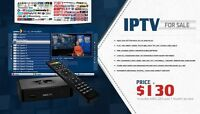IPTV MAG 254 box for Indian Pakistani English live channels
