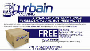 *** URBAIN MOVING *** PROFESSIONAL AND AFFORDABLE SERVICE.