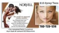 Norvelle Custom Spray Tan $15