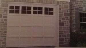 INSULATED GARAGE DOOR   ( 2  available  )