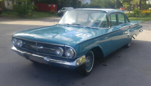 CERTIFIED AND RESTORED 1960 Chevrolet BeAir!!!