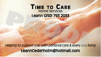 Time To Care home service