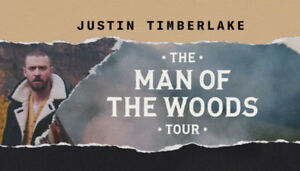 Justin Timberlake 2 concert tickets - Tuesday March 13th @7:30pm