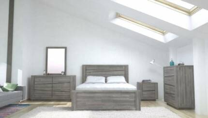 QUEEN BED FRAME - SOLID WOOD - ...DIRECT FACTORY OUTLET...
