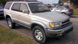 1996 Toyota 4Runner, Limited