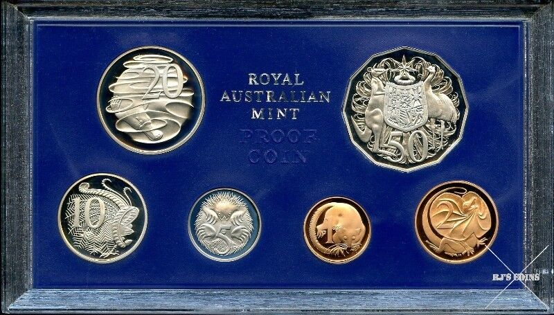 Australian 1979 Proof Six Coin Year Set from the Royal Australian Mint