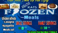 Home made meals great for banquets gatherings family events