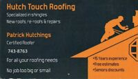 Hutch Touch Roofing forget the rest call the best 743-8763