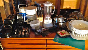 COMPLETE - Basic Kitchen Items (Dishes, Utensils, Pots, etc.)