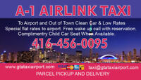 Affordable Airport Taxi Service Cheap Flat rate Call 4164560095