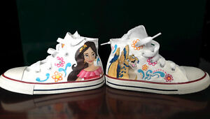 Shoes Converse Hand Painted-Avalor-Chaussures Enfant