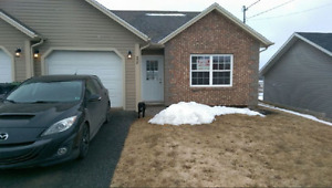 2 bedroom single level duplex with attached garage