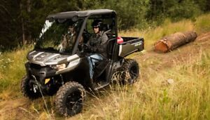 2018 Can-Am Defender Stock Clearance Sale