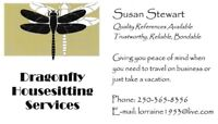 Dragonfly Housesitting Services