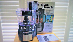 Hamilton Beach Stack and Snap 10-Cup Food Processor BNIB