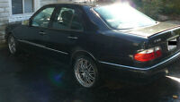 AS IS 1998 Black Mercedes-Benz E 320 E-320W FWD with option RWD