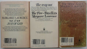 3 Margaret Laurence novels — by the great Canadian author Oakville / Halton Region Toronto (GTA) image 2