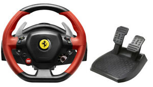 LNIB - THRUSTMASTER Ferrari 458 Spider Racing Wheel for Xbox One
